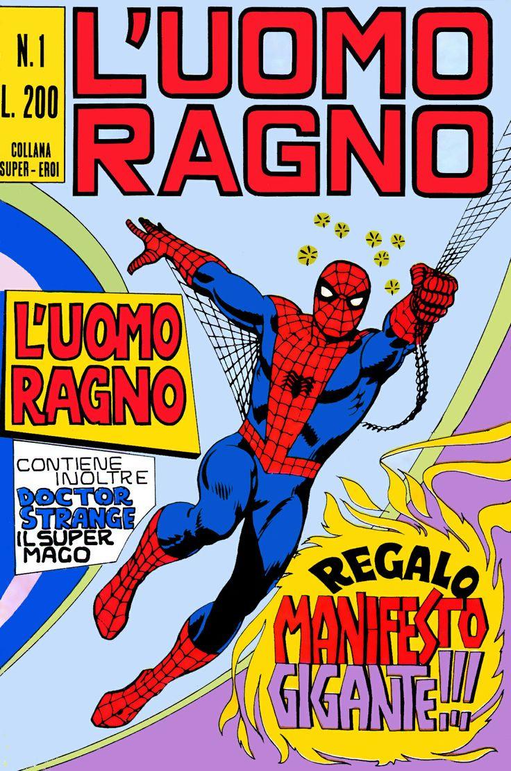 Spider-Man - Marvel comics Uomo Ragno 1 - Editoriale Corno 1970