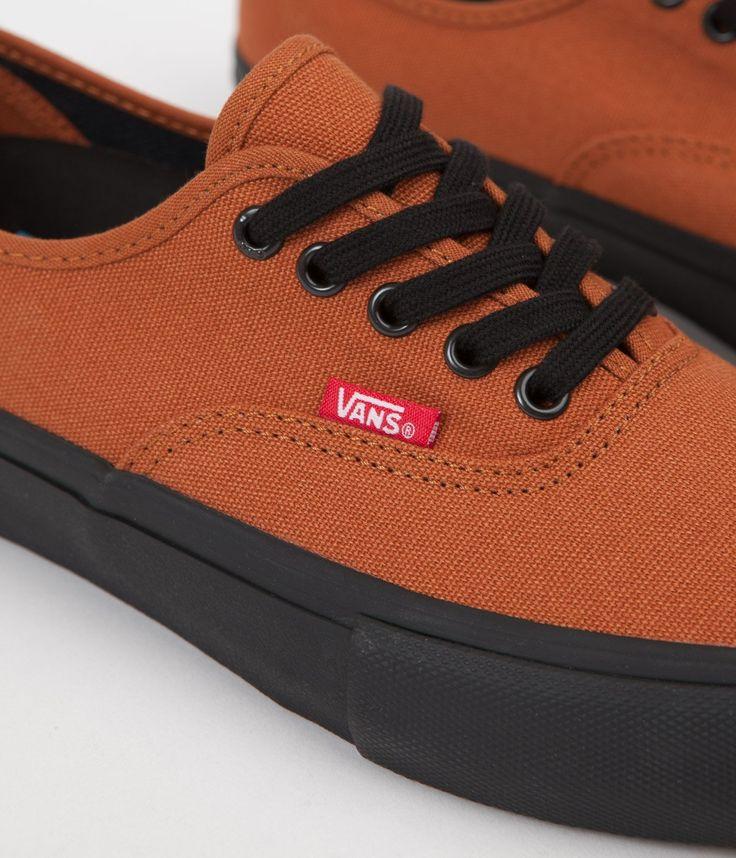 Vans Authentic Pro Dakota Roche Shoes - Black / Glazed Ginger