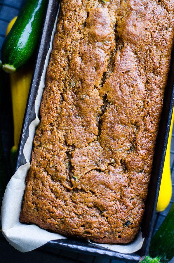 Healthy Zucchini Bread - iFOODreal