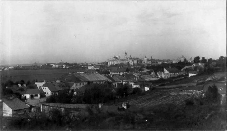 Panorama Lublina rok 1917