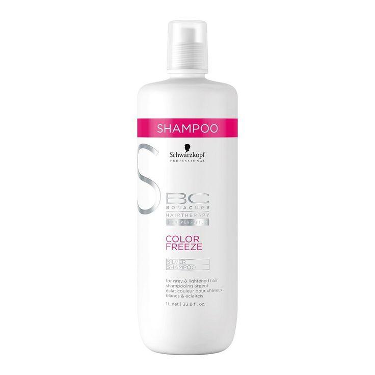 Schwarzkopf Professional BC Bonacure Color Freeze Silver Shampoo 1 Liter ** For more information, visit image link. #hairdressing