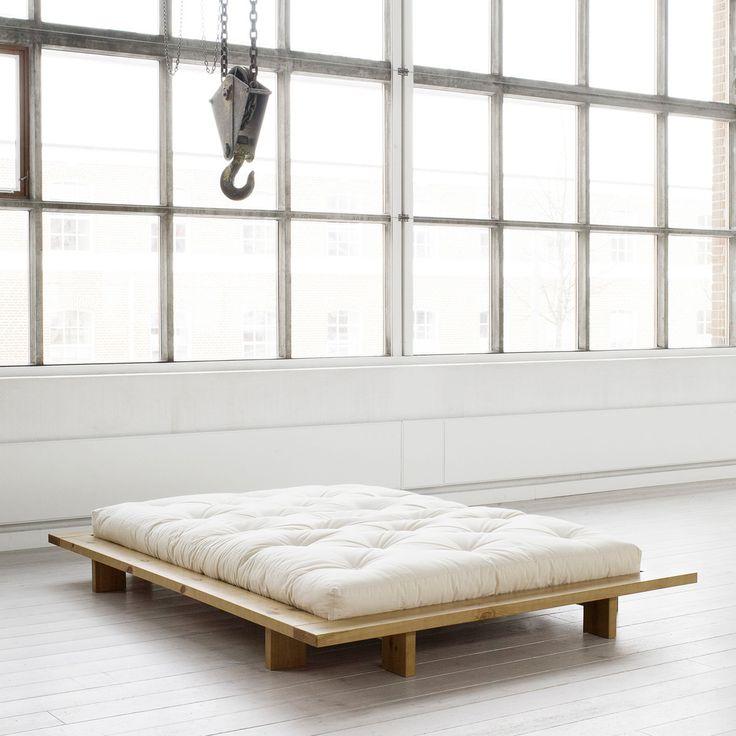 die besten 25 japanische plattform bett ideen auf pinterest niedriger plattformbettrahmen. Black Bedroom Furniture Sets. Home Design Ideas