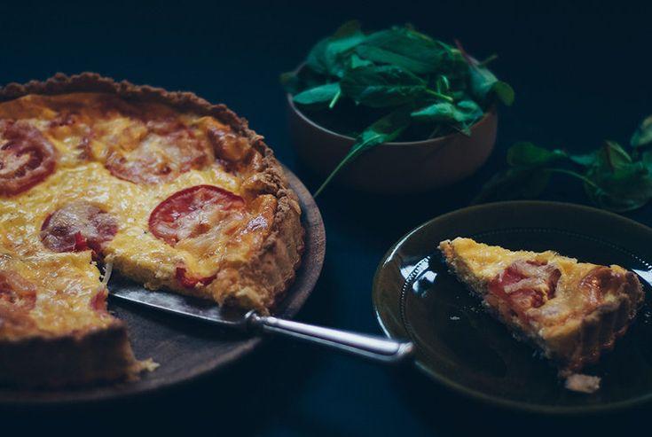 Pai med ost, spekeskinke og tomat - skardalernaering.no
