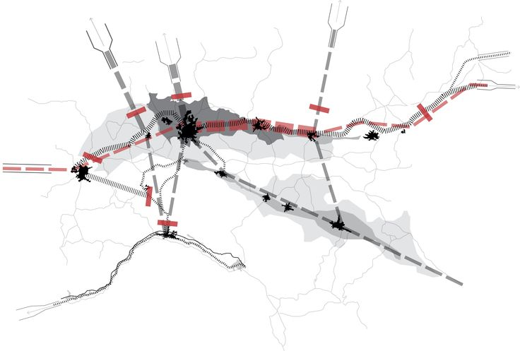 The impact of railway station development on urban dynamics: A review of the North Italy axis project