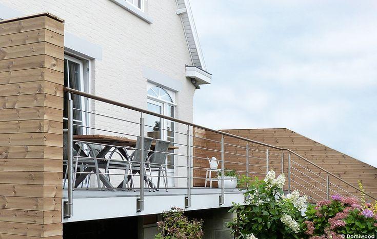 Garde-corps contemporains, modernes ou classiques. En métal, en bois aluminium ou inox les gardes-corps grad sécurisent votre terrasse en bois sur mesure.