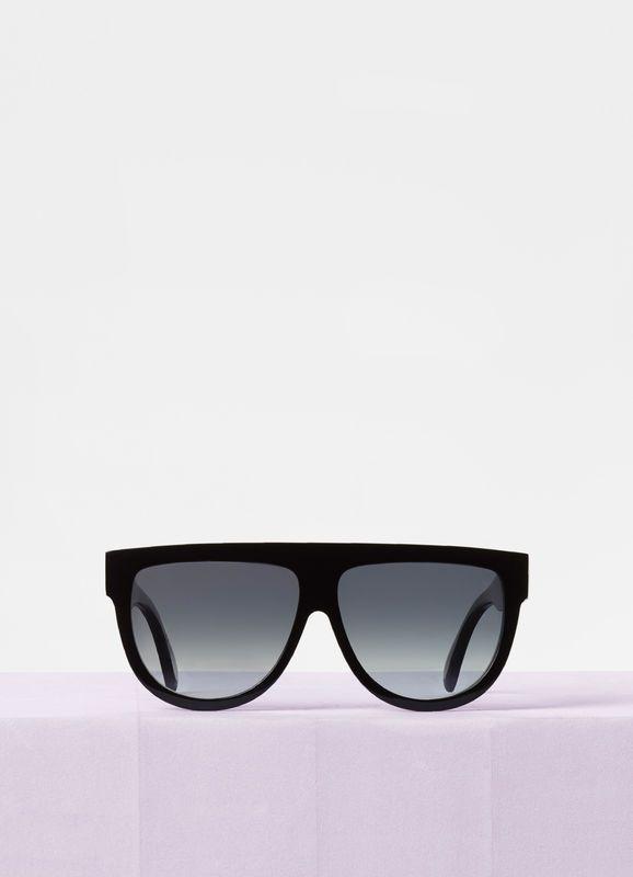 4ddf58e705c1a Aviator sunglasses in acetate with polarized lenses