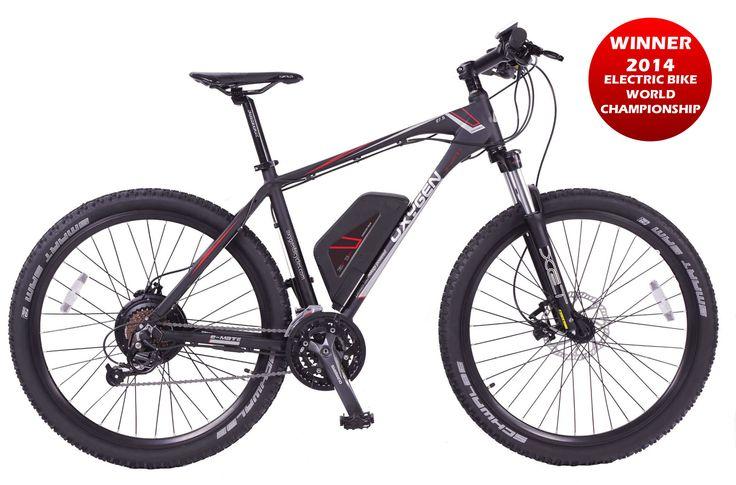 Oxygen Electric Bikes | E-Mate MTB 13Ah