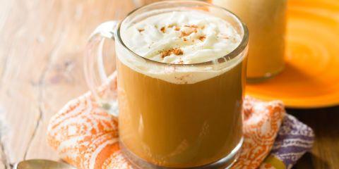 Best DIY Pumpkin Coffee Creamer Recipe-How to Make DIY Pumpkin Coffee Creamer-Delish.com