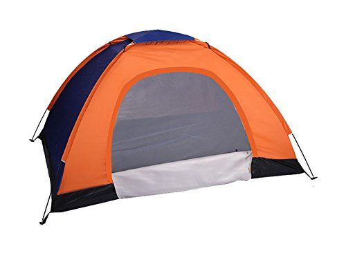 Generic Daily Water Resistant 3 Person Tent Orange >>> You can find more details by visiting the image link.