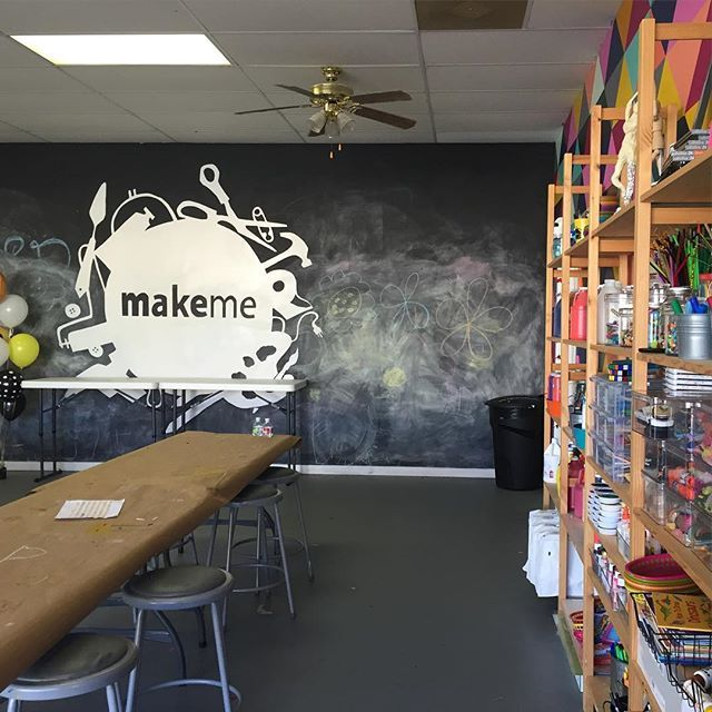 A makerspace should be messy and beautiful  - At MakeMe Studio in St Petersburg, FL