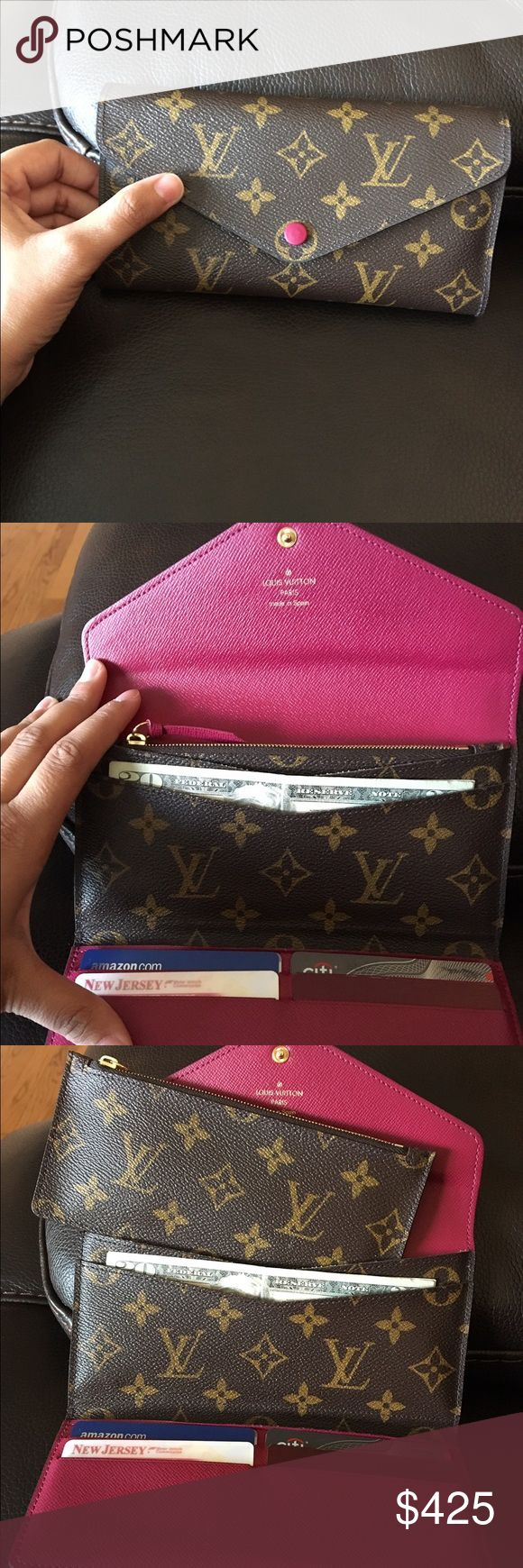 Louis Vuitton Josephine Wallet 100% Authentic like NEW. Comes with coin pouch. No dust bag or box. Louis Vuitton Bags Wallets