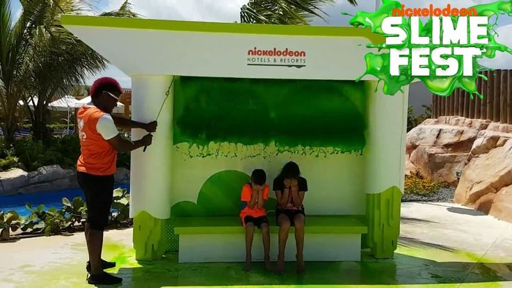 SLIME TIME at NICKELODEON HOTEL PUNTA CANA! Family Fun Vlog