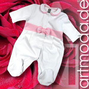 Ein feiner #Strampler für kleine #Prinzessinen. Tolle #Geschenkidee zur #Taufe, zur #Geburt oder einfach so.