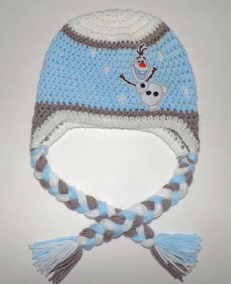 Frozen crochet hat, Olaf crochet hat.                                                                                                                                                                                 More