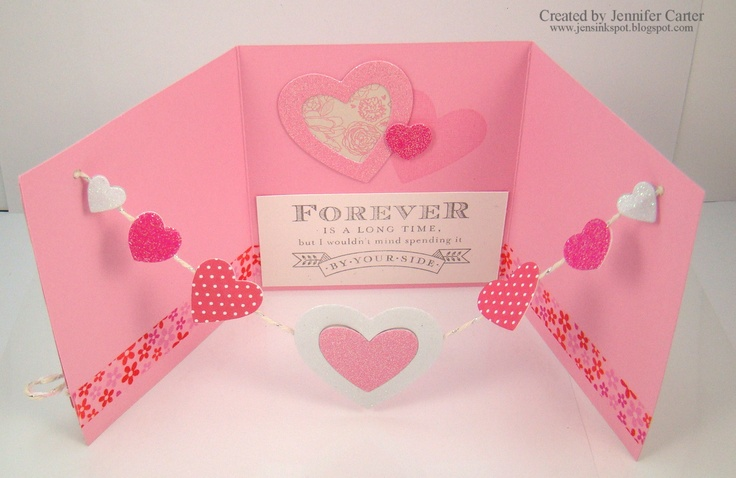Craft Ideas For Valentine Cards