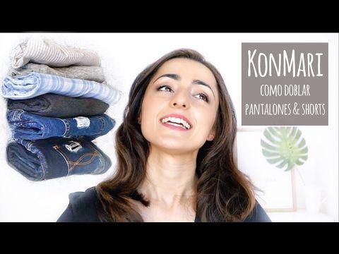 Cómo doblar pantalones y shorts | Método KonMari por Marie Kondo