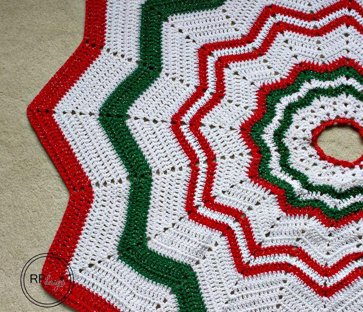 Crochet Tree Skirt Pattern Free Pattern Crochet Tree