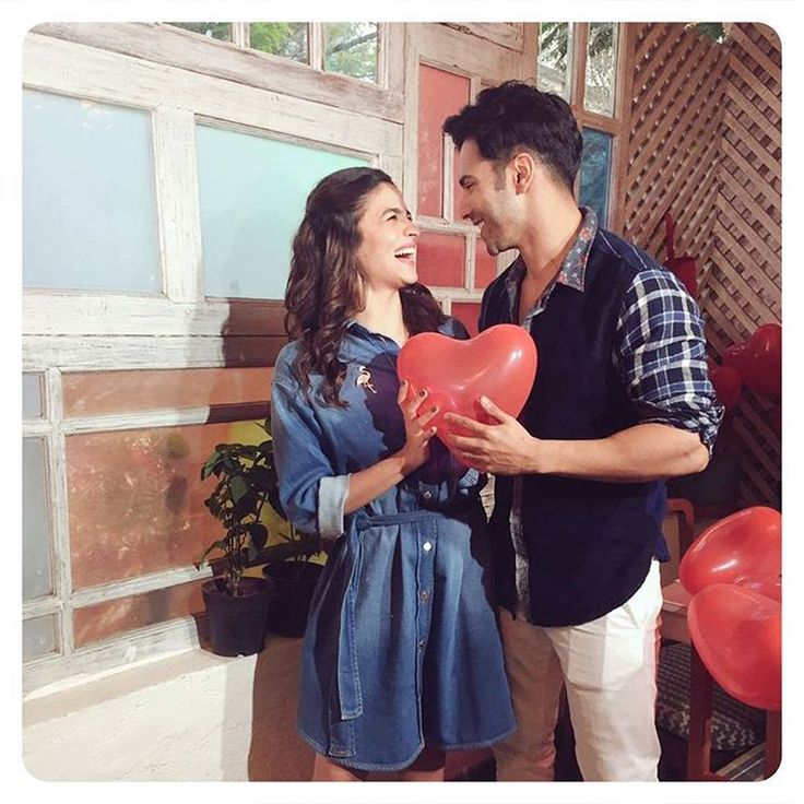 #ValentinesDay! ❤ #BadrinathKiDulhania #Varun #Alia