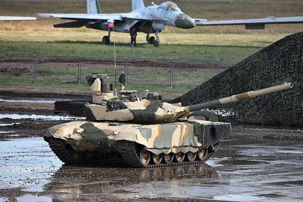 The T-90MS main battle tank can ford a depth of 1.8m without preparation. Image courtesy of Vitaly V. Kuzmin. - Image - Army Technology
