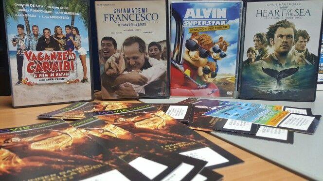 #StaseraFilm - Novità in DVD e BLU RAY - VACANZE AI CARAIBI - HEART OF THE SEA - CHIAMATEMI FRANCESCO - ALVIN SUPERSTAR: NESSUNO CI PUÒ FERMARE DigitalGame - Noleggio e vendita film in DVD e BLU RAY, Musica, Gadget e tanto altro su www.ondagame.it  Corso Calatafimi, 37 - MARSALA - Tel. 0923.982789 - info@ondagame.it