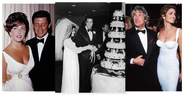 Elvis Presley et Priscilla Beaulieu, Richard Gere et Cindy Crawford, Elizabeth Taylor et Eddie Fisher... Nombreuses sont les célébrités à s'être dit 'oui' à Las Vegas. L'occasion de revenir en images sur dix mariages de stars iconiques organisées à Sin City.