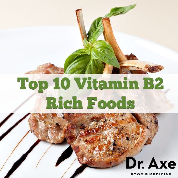 Top 10 (Riboflavin) Vitamin B2 Rich Foods - Vitamin B2 Deficiency symptoms include cracks in the corners of the mouth, sore throat, and hypersensitivity to light.