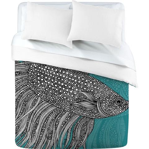 love it!Home Accessories, Duvet Covers, Valentina Ramos, Beta Fish, Bedrooms, Denis Design, Design Home, Ramos Beta, Fish Duvet