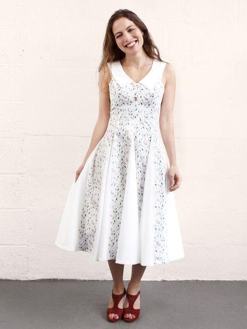 **Pre sale** Sophia Dress Sewing Pattern – By Hand London