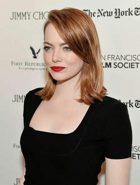 Emma Stone attends the SF Film Society presents SF Honors: 'La La Land' at the Castro Theatre on December 8, 2016 in San Francisco, California.
