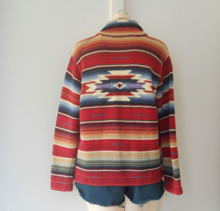 Southwestern Decor From H M: Southwest Sweater Southwestern Sweater Rustic By