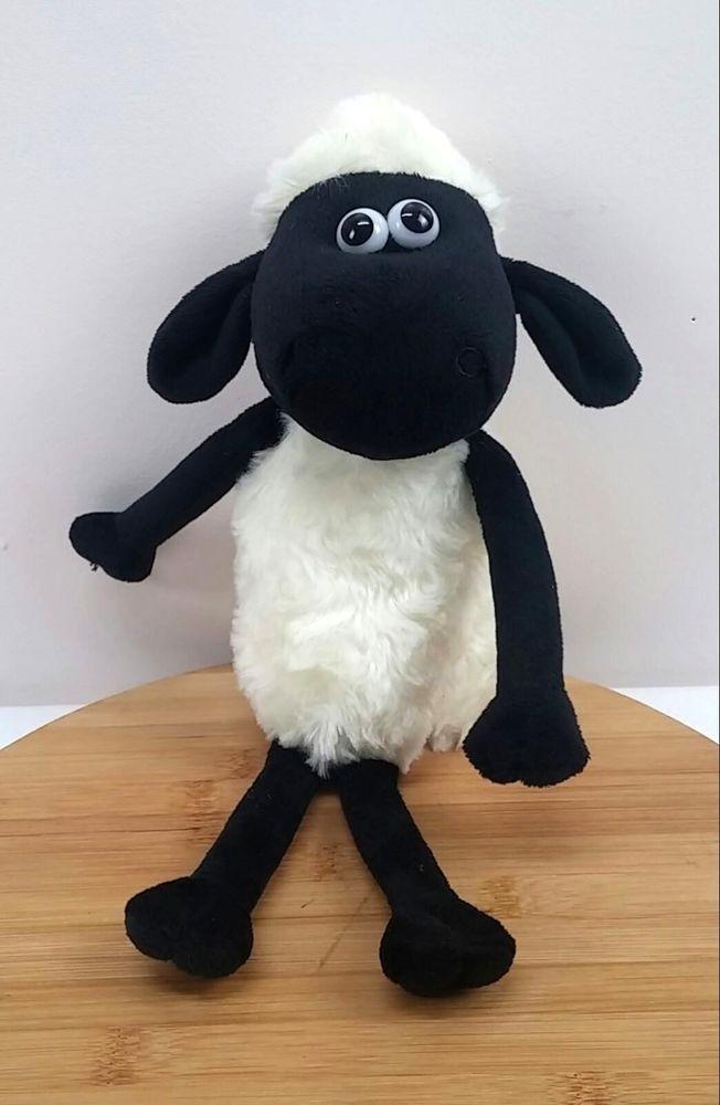 Shaun The Sheep Character Plush Stuffed Animal Black Sheep 13