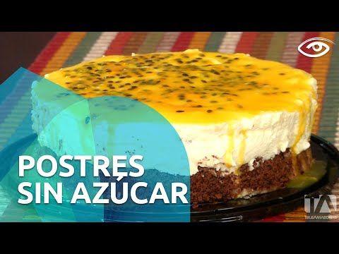 Postres sin azúcar - Día a Día - Teleamazonas - YouTube