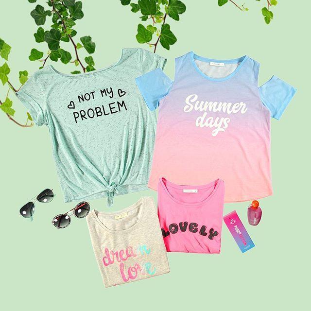 WEBSTA @ lcwaikiki - Baharlık taze tişörtler hazır! 9,95 TL'den başlayan fiyatlarla.Super fresh spring t-shirts are ready! #young #teen #genç #bahar #spring #lcwaikiki