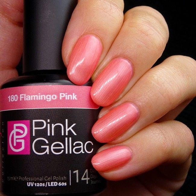 Smalto semipermanente - 180 Flamingo Pink
