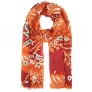Printed cashmere scarf - Şal, Desenli #askmoda #alisverisbirask #burberry #burberryşal #burberryscarf #scarfmodels