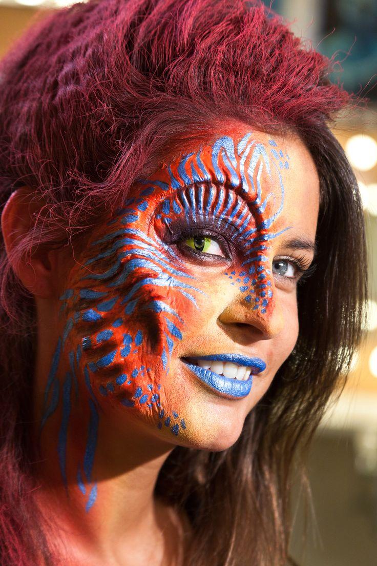 Face Makeup Youtube: 19 Best Prosthetic Ideas Images On Pinterest