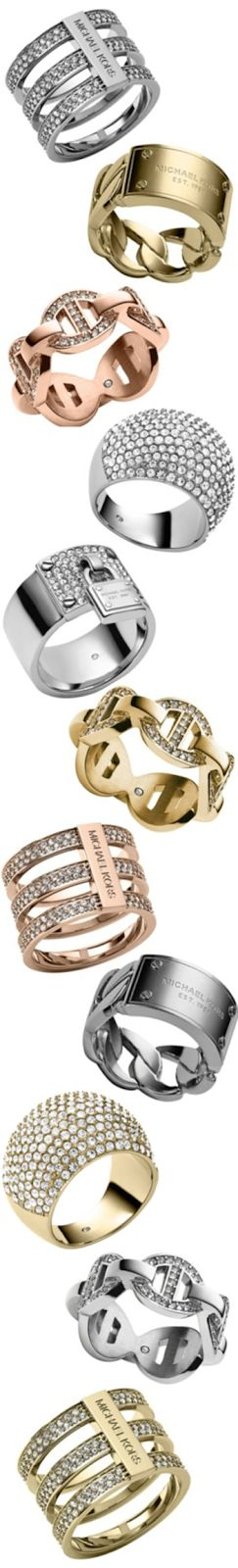 Michael Kors Assorted Rings | the House of Beccaria#