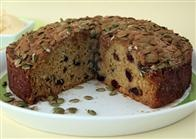 Pumpkin & Cranberry Teacake recipe by Annette Sym (Symply Too Good To Be True)