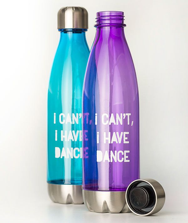 I Can't, I Have Dance Hipster Tritan Water Bottle