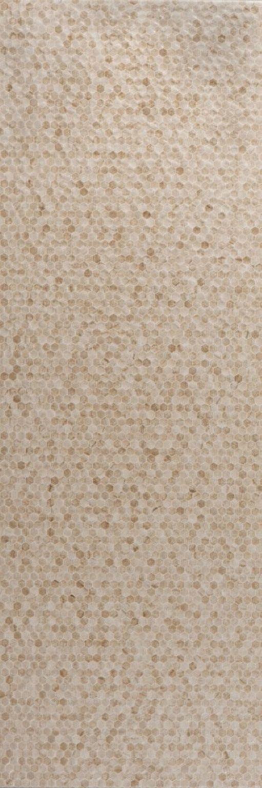 Crema Marfil Selecto Hexa Structured Esmaltado