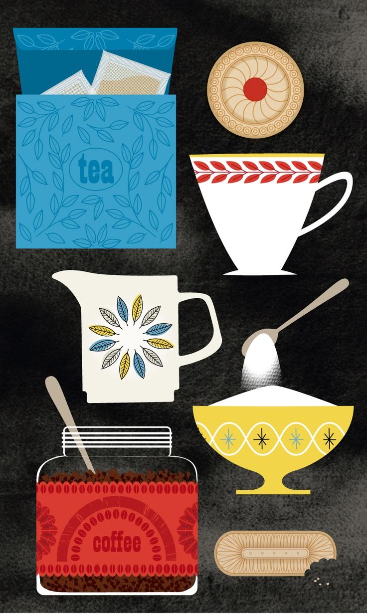 Time for Tea - Sally Elford giclee print