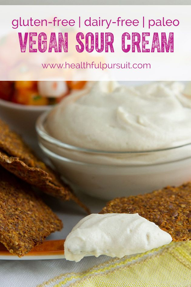 How to make (mind-blowing) Vegan Sour Cream - Healthful Pursuit
