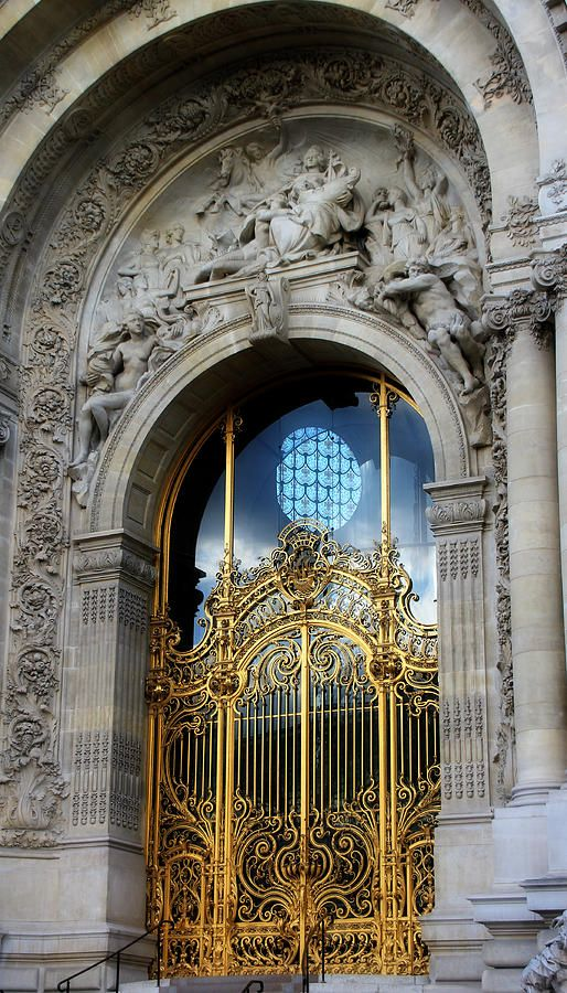 Petit Palais ~ Paris, I love architecture, I was European in another life.