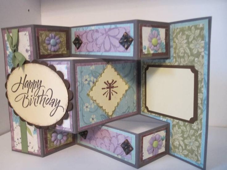 Best Homemade Cards Trifold Cards Images On