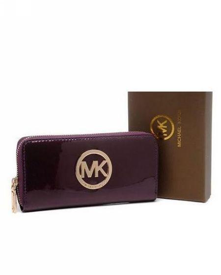 Michael Kors Wallet Hamilton Purple
