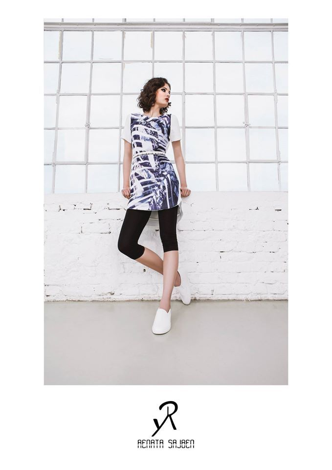 2015 Spring/Summer collection  tunic with individual pattern