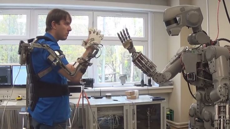 """Development of the Russian DARPA: humanoid robot FEDOR [footage of the testing of the robot]  Formerly known as """"Avatar"""", the robot received a new name - FEDOR (Final Experimental Demonstration Object Research).  Development of the robot began in the framework of the project """"Rescuer"""" in 2014.  The growth of the robot """"FEDOR"""" is 184 cm, depending on the attached removable modules and additional equipment weight FEDOR is from 106 to 160 kg. Hand the robot can lift freight to 10 kg.  At the…"""