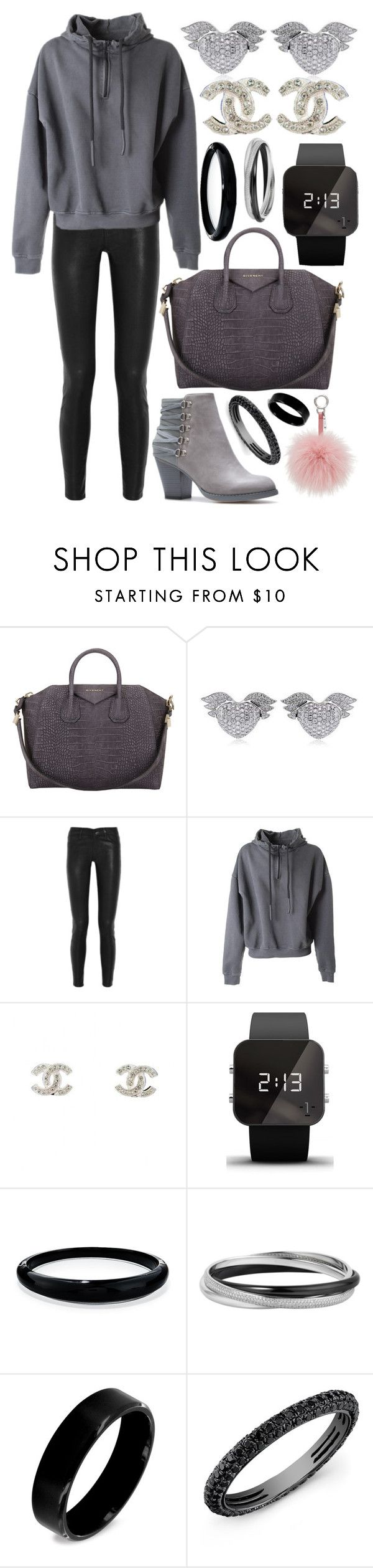 """""""2957"""" by alex94a ❤ liked on Polyvore featuring Givenchy, Theo Fennell, J Brand, adidas Originals, Chanel, 1:Face, Alexis Bittar, Fendi, West Coast Jewelry and Anne Sisteron"""