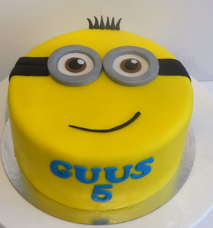 Minion cake is in!