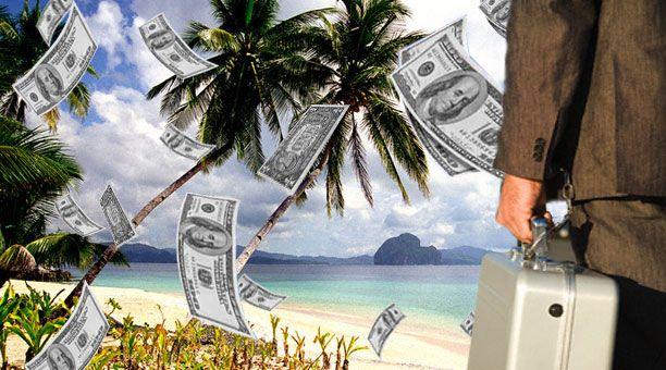 Los paraisos fiscales esconden hasta 26 billones de euros  Un estudio concluye que este dinero habría aportado 230.000 millones en concepto de recaudación por impuestos